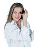 Morning makeup royalty free stock photo