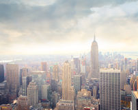 Morning in Manhattan Royalty Free Stock Images