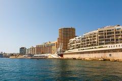 Morning in Manoel Island Marsamxett Harbour. Morning in Manoel Island in Gzira's Marsamxett Harbour, Malta Stock Photography