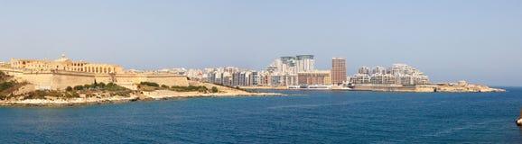 Morning in Manoel Island Marsamxett Harbour. Morning in Manoel Island in Gzira's Marsamxett Harbour, Malta Stock Photos
