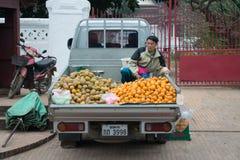 Morning market Stock Images