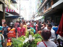 Morning market in Bangkok Thailland Stock Images