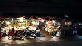 Morning market. Food fruit flowers Stock Photos