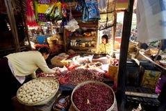Morning market in Myanmar Stock Photos