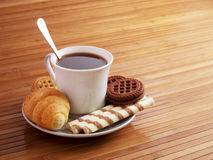 Morning meal Stock Images