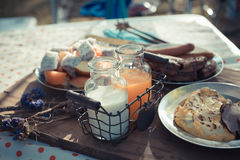 Morning meal Royalty Free Stock Photography
