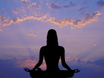 Morning Meditation 1 Stock Photos