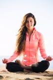 Morning Meditation Stock Image
