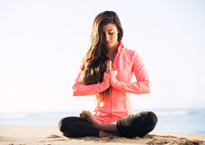 Morning Meditation Royalty Free Stock Image
