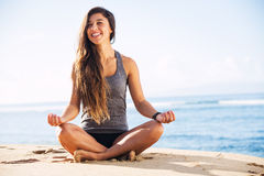 Morning Meditation Stock Image