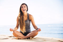 Morning Meditation Stock Images