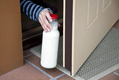 Morning milk Royalty Free Stock Photos