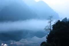 The morning mist Royalty Free Stock Images
