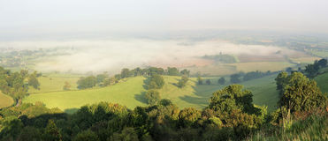 Morning Mist in Berkeley Vale Royalty Free Stock Photography