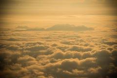 Morning Mist covers Winter misty Fog sunrise Royalty Free Stock Image