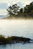 Morning Mist on the Lake Royalty Free Stock Photo