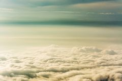Morning Mist  ,sea of mis or  Cloud.  Stock Images