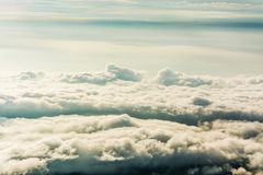 Morning Mist  ,sea of mis or  Cloud.  Royalty Free Stock Photo
