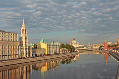 Morning in Moscow. Stock Image