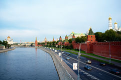 Morning in Moscow Stock Photography