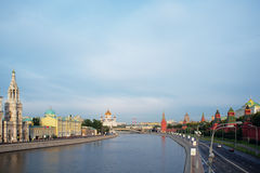 Morning in Moscow Stock Photos