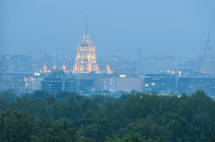 Morning in Moscow Royalty Free Stock Images
