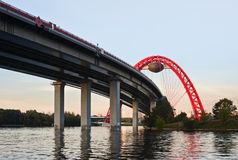 Morning on the Moscow River Stock Photography