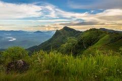 Morning at mountain Stock Photos