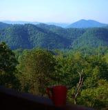 Morning mountain view Royalty Free Stock Photo