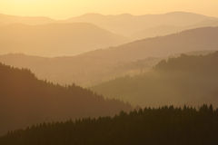 Morning in mountains. Stock Photography