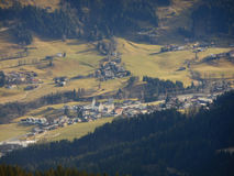 Morning in mountains. Kitzbuhel, Austria, autumn Royalty Free Stock Image