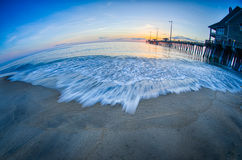 Morning at nags head pier Stock Images