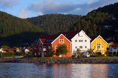Morning Namsos Stock Images