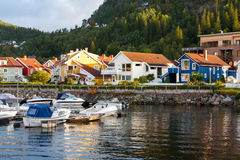 Morning Namsos Royalty Free Stock Images