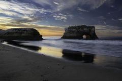 Morning at Natural Bridges Royalty Free Stock Photography