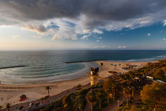 Morning  in Netanya Stock Photography