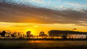 Morning in Normandy Stock Images
