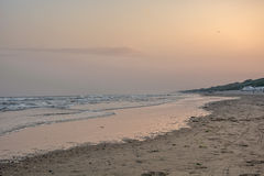 On the morning of the North Sea. Royalty Free Stock Image