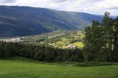 Morning Norwegian landscape Royalty Free Stock Photos