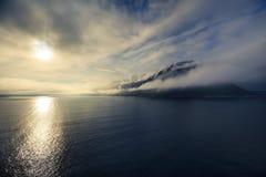 Morning in Norwegian sea, Alesund – Norway – Scandinavia Royalty Free Stock Images