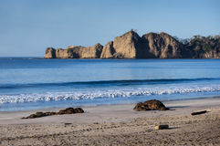 Morning ocean coastline Royalty Free Stock Images