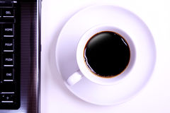 Morning office coffee Royalty Free Stock Photography