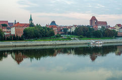 Morning in Old Town of Torun, Poland Stock Photography