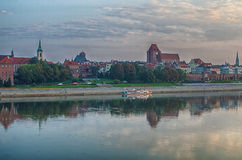 Morning in Old Town of Torun, Poland Stock Images