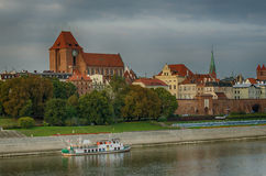 Morning in Old Town of Torun, Poland Royalty Free Stock Photo