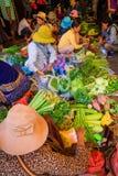 Morning Open Market Stock Photo