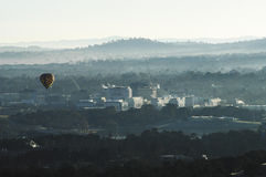 Morning over Canberra Stock Photos