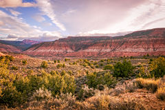 Morning over high desert plateau Royalty Free Stock Image