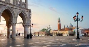 Morning over San Marco Royalty Free Stock Photos
