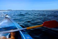 Morning paddle Royalty Free Stock Image